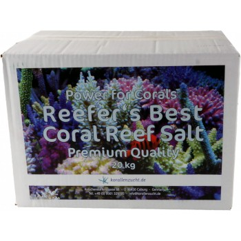 Korallen-Zucht Reefer's Best Coral Reef Salt 20кг