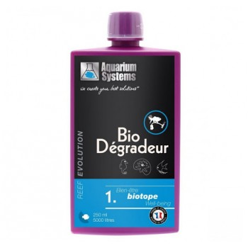 Aquarium Systems Bio-degradeur 250мл. Бактерии